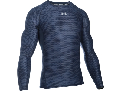 Under Armour HG LS COMP PRINTED
